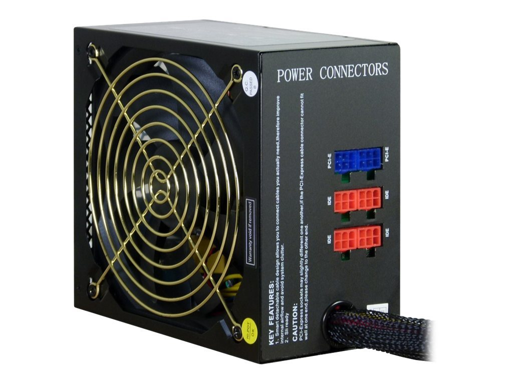Inter-Tech Combat Power CPM 750W - Stromversorgung (intern) - ATX12V 2.2 - Wechselstrom 230 V - 750 Watt - aktive PFC