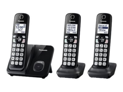 Panasonic KX-TGD513B Cordless phone with caller ID/call waiting DECT 6.0
