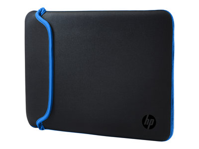 HP Notebook Sleeve Hylster  15.6' Neopren Sort Blå
