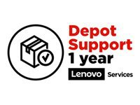 Lenovo Depot - Extended service agreement - parts and labor - 1 year (School Year Term) - for 100e Chromebook (2nd Gen) MTK; 14; 14e Chromebook; 500e Chromebook (2nd Gen)