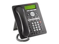 Avaya one-X Deskphone Value Edition 1608-I - VoIP phone - H.323 - black