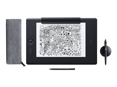 Wacom Intuos Pro Paper Edition Large Digitizer 12.2 x 8.5 in multi-touch electromagnetic