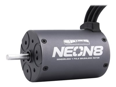 - NEON 8 (4P/2000KV/5mm shaft) (sensorless brushless) motor