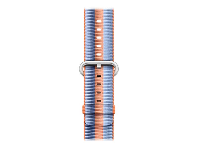 Apple 42mm Woven Nylon Band - Uhrarmband - 145-215 mm - orange - für Watch (42 mm)