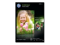 HP Everyday Photo Paper - Glossy - A4 (210 x 297 mm) - 200 g/m² - 100 sheet(s) photo paper - for Deskjet 2050 J510; Envy 100 D410; Officejet 6000 E609; PageWide MFP 377; PageWide Pro 452