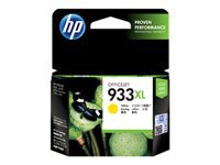 HP 933XL - High Yield - yellow - original - ink cartridge - for Officejet 6100, 6600 H711a, 6700, 7110, 7510, 7610, 7612