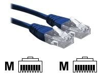 1.5M Blue RJ45 UTP CAT 6 Stranded Flush Moulded Snagless Network Cable 24AWG LS0H