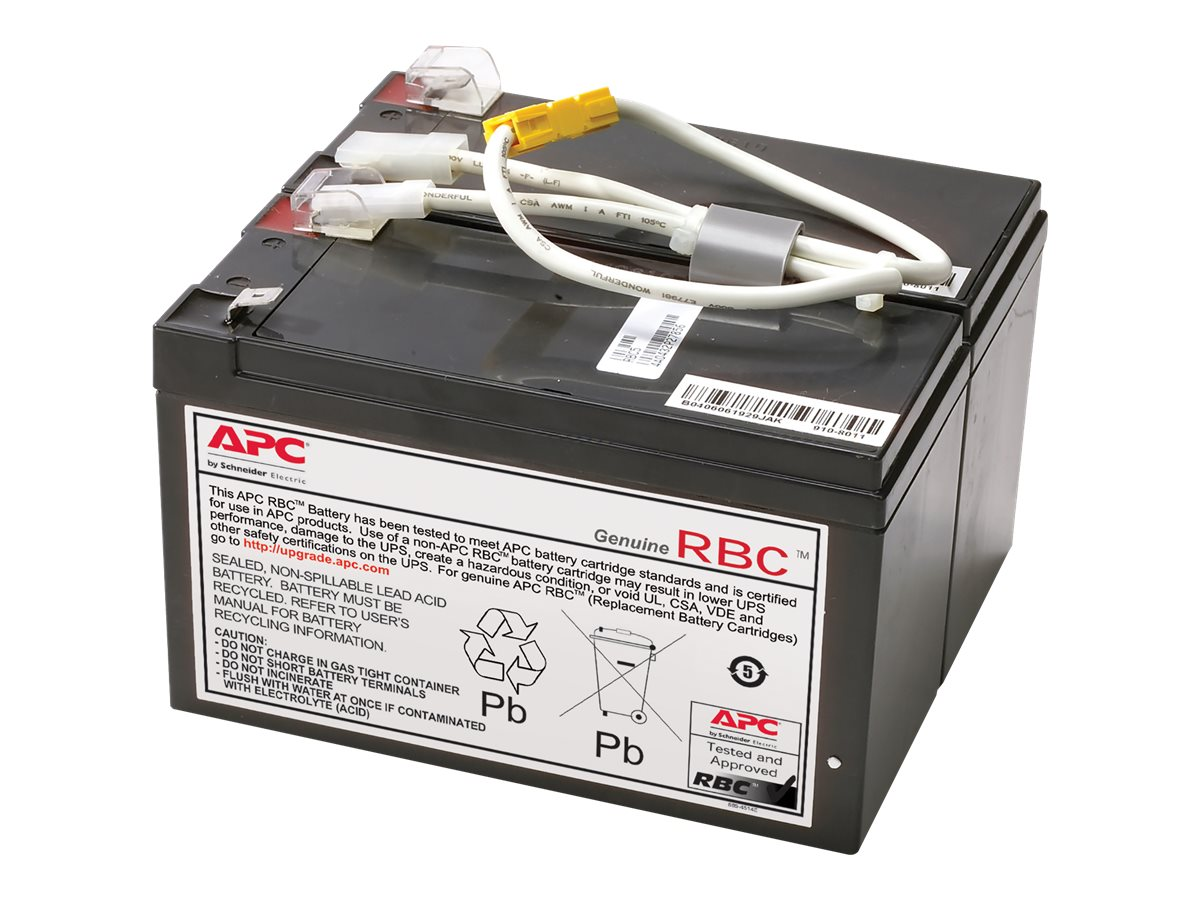 APC Replacement Battery Cartridge #109 - UPS battery - lead acid