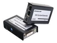 IOGEAR GVE250 DVI-D CAT5e/6 Extender with Stereo Audio (Sender & Receiver units)