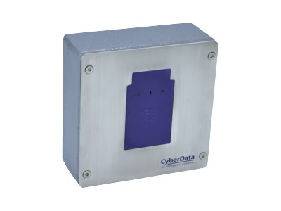 CyberData RFID Secure Access Control Endpoint Access control terminal with RFID reader wired
