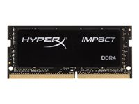 HyperX Impact - DDR4 - 16 Go - SO DIMM 260 broches - 3200 MHz / PC4-25600 - CL20 - 1.2 V - mémoire sans tampon - non ECC