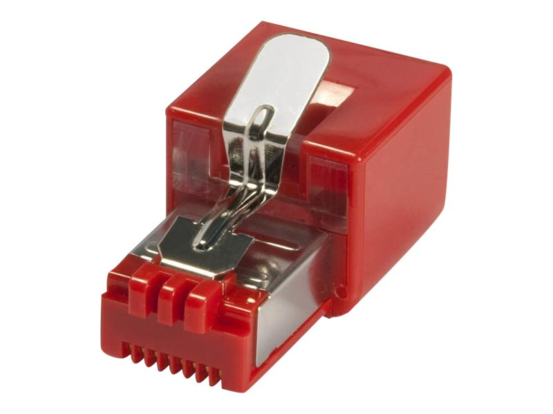 LINDY 1000Base-T Lan Surge Protector - Überspannungsschutz ( Plug-In-Modul ) - Rot
