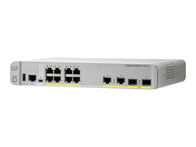 Cisco Catalyst 3560CX-8PC-S - switch - 8 ports - managed