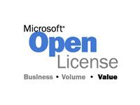 Microsoft Office Project Standard License & software assurance 1 PC Open Value level D