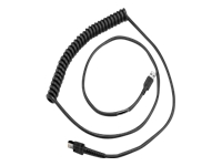 Zebra - USB cable - USB (M) - 1.2 A - 9 ft - coiled - for Zebra DS3608-ER; XBOOK L10; XPAD L10; XSLATE L10