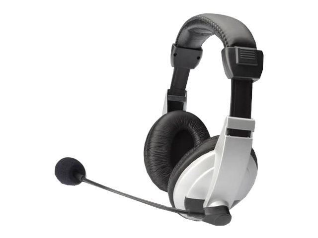 DIGITUS DA-12201 - Headset - Full-Size - verkabelt