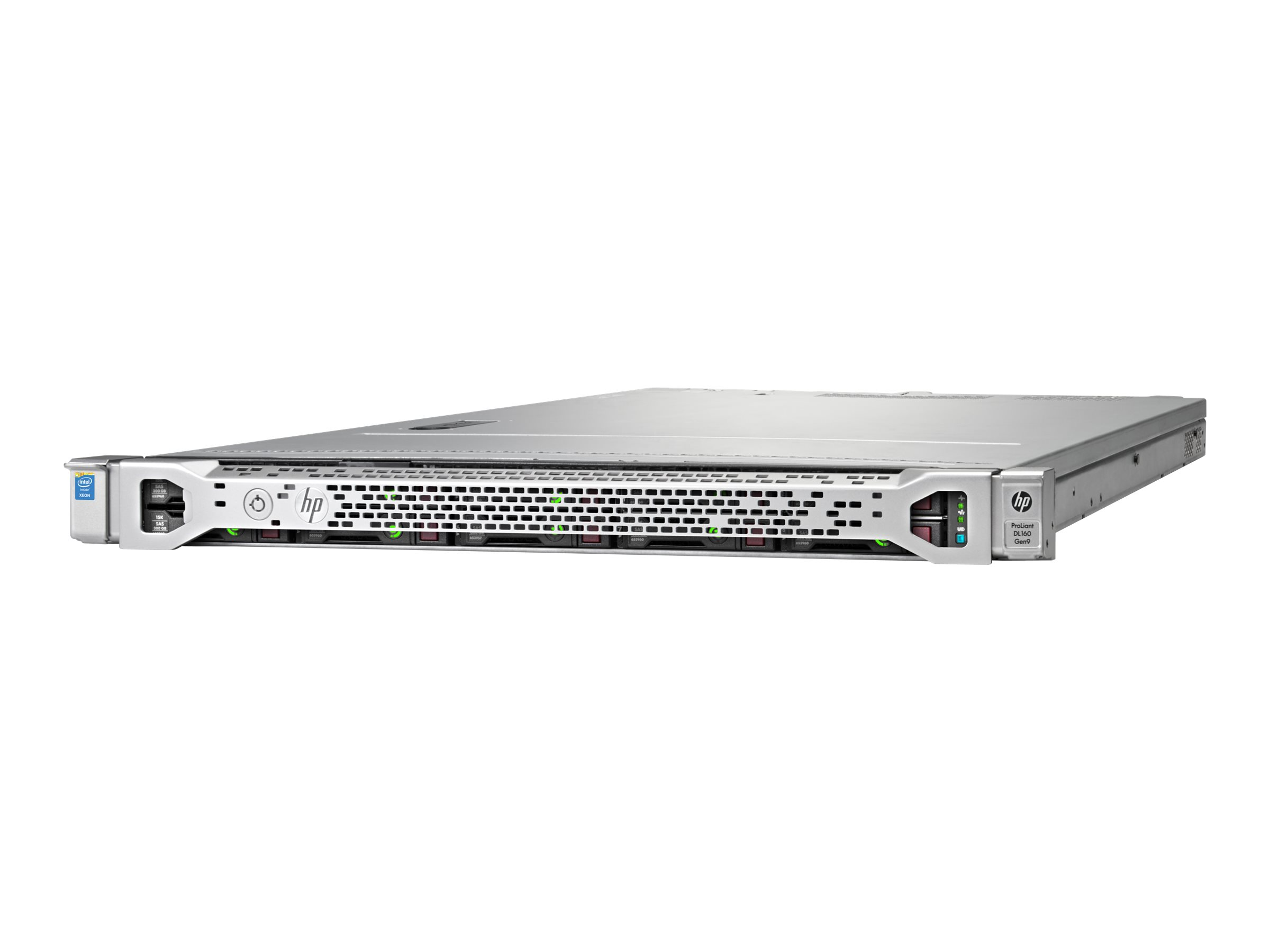 HPE ProLiant DL160 Gen9 - Server - Rack-Montage - 1U - zweiweg - 1 x Xeon E5-2620V4 / 2.1 GHz