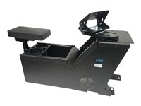Gamber-Johnson Ford PI Utility (2012+) console box with cup holder, armrest and TS5 motion attachme