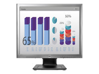 "HP EliteDisplay E190i - Écran LED - 18.9"" (18.9"" visualisable) - 1280 x 1024 - IPS - 250 cd/m² - 1000:1 - DVI-D, VGA, DisplayPort - noir"