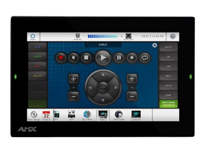 AMX Modero G5 MD-702 7.5INCH Class (7INCH viewable) LED display with touchscreen (multi touch)