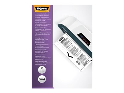 Fellowes Paper 25-pack white white 9 in x 11.5 in cleaning