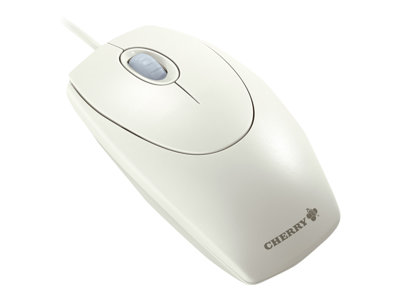 CHERRY WheelMouse M-5400 - mouse - PS/2, USB - white/gray