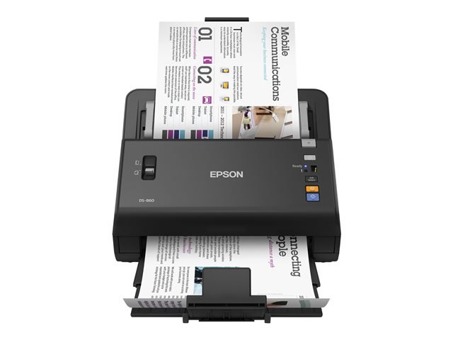 epson workforce ds 860 scanner de documents recto. Black Bedroom Furniture Sets. Home Design Ideas