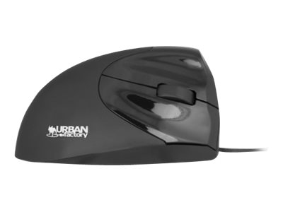 Urban Factory Ergo Mouse EMR01UF-V2 - mouse - USB - black