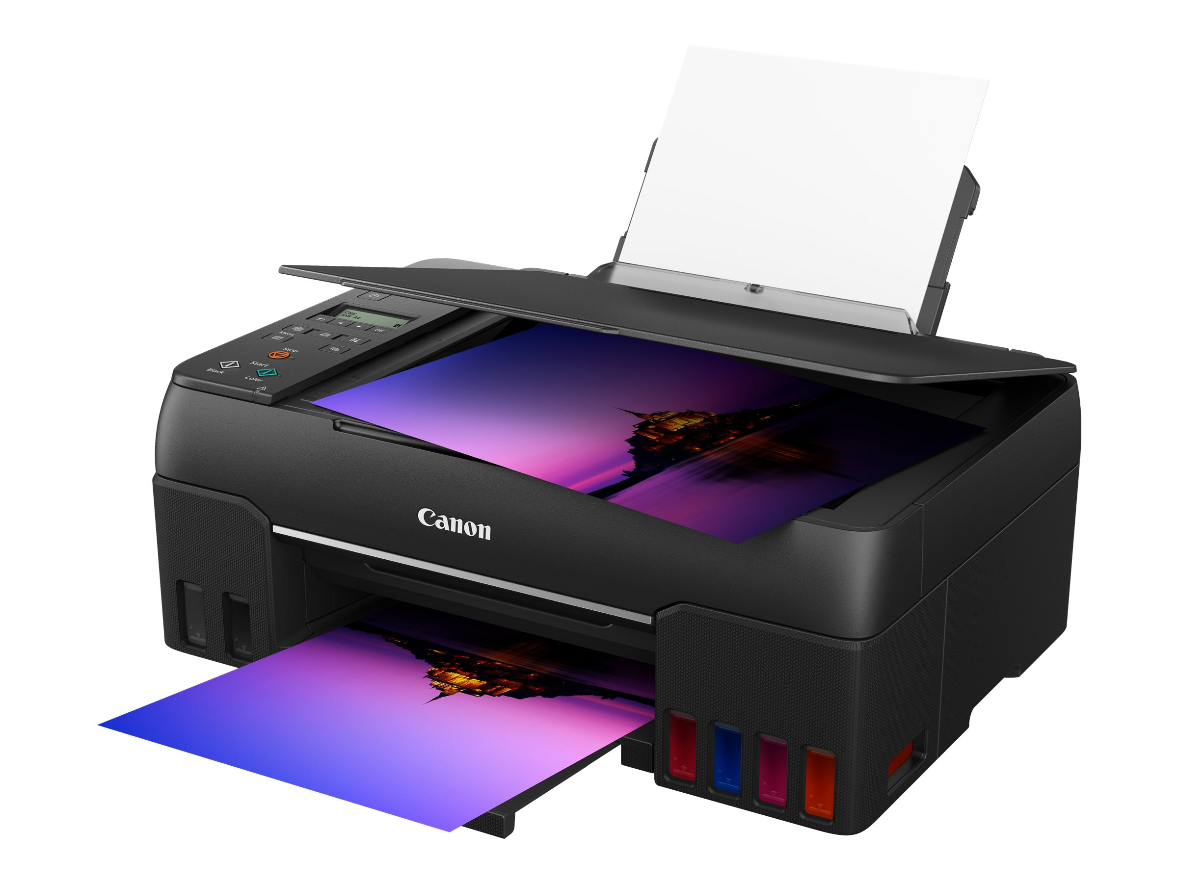 Canon PIXMA G650 - Multifunktionsdrucker - Farbe - Tintenstrahl - refillable - A4 (210 x 297 mm), Letter A (216 x 279 mm) (Original)