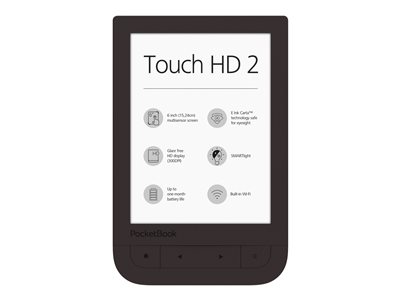 PocketBook Touch HD 2 - eBook-leser - 8 GB - 6""
