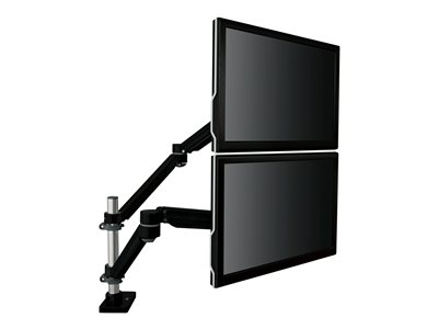 3M Easy-Adjust Dual Monitor Arm MA260MB Desk mount for 2 LCD displays black