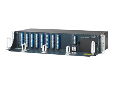 Cisco Exposed Faceplate Mux/Demux 40-Channel Patch Panel - patch panel