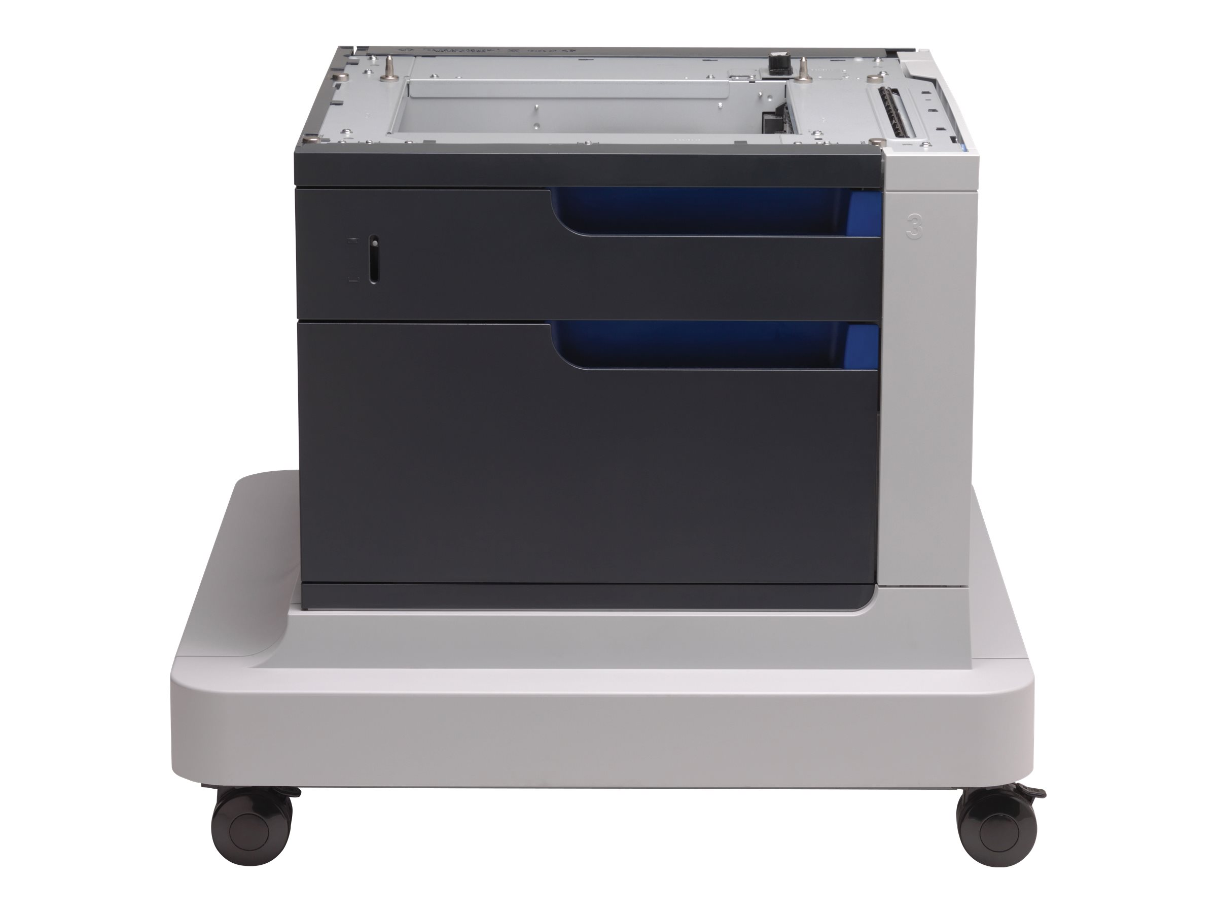 HP printer stand paper drawer with cabinet - 500 sheets
