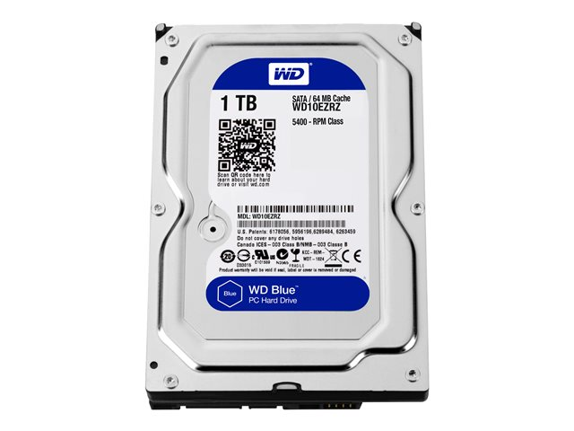 Image of WD Blue WD10EZRZ - hard drive - 1 TB - SATA 6Gb/s