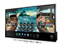 SMART Board 7086 Pro 86INCH Class LED display interactive with touchscreen (multi touch)