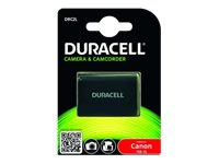 Duracell DRC2L - Camera battery Li-Ion 650 mAh - for Canon MVX300, MVX330, MVX350, MVX40, MVX45, ZR100, ZR400, ZR500, ZR800, ZR830, ZR850
