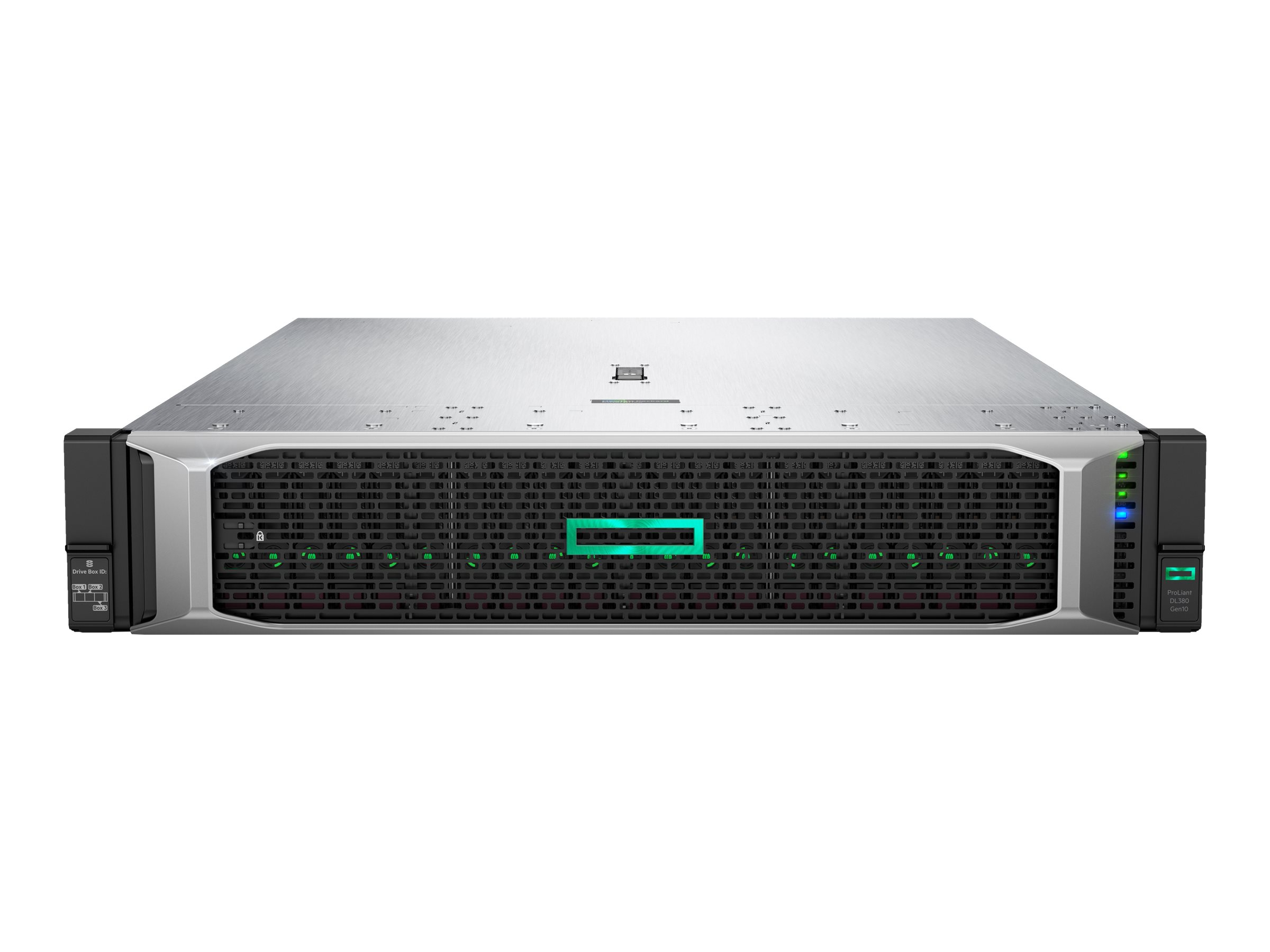 HPE ProLiant DL380 Gen10 - rack-mountable - no CPU - 0 GB