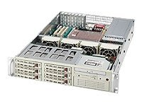 Supermicro SC823T-R500LP - rack-mountable - 2U - extended ATX