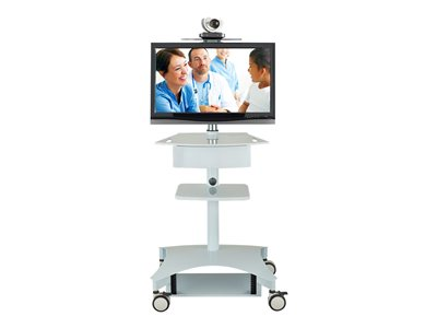 Avteq TMP TMP-200 Cart for LCD display / video conferencing system medical steel