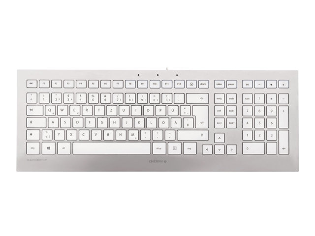 Image of CHERRY 3.0 FOR MAC - keyboard - UK - white, silver