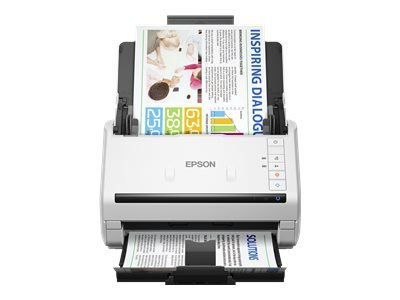 Epson WorkForce DS-530 - Document scanner - Duplex - A4 - 600 dpi x 600 dpi - up to 35 ppm (mono) / up to 35 ppm (colour) - ADF (50 sheets) - up to 4000 scans per day - USB 3.0 - for Perfection V19