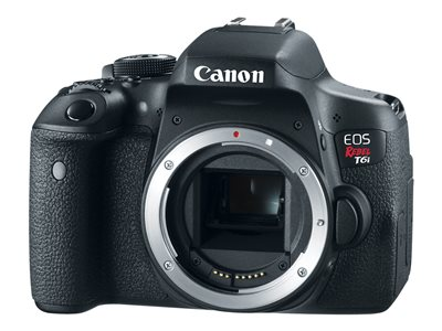 Canon EOS Rebel T6i Video Creator Kit digital camera SLR 24.2 MP APS-C 1080p