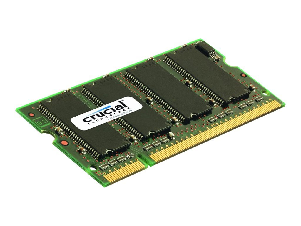 Crucial - DDR2 - 2 GB - SO DIMM 200-PIN - 667 MHz / PC2-5300 - CL5