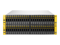 HPE 3PAR StoreServ 8440 4-node Storage Base - Hard drive array - 48 bays (SAS) - 16Gb Fibre Channel (external) - rack-mountable - 4U - field