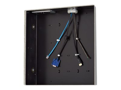 Chief PAC526 Storage box for audio/video components black in-wall mounted