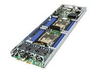 Intel Compute Module HNS2600BPS24R Server blade 2-way RAM 0 MB no HDD GigE, 10 GigE