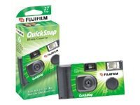 Fujicolor QuickSnap Flash Single use camera 35mm lens: 32 mm (pack of