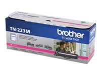 Brother TN-223M - Magenta - original - toner cartridge - for Brother DCP-L3550, HL-L3210, L3230, L3270, L3290, MFC-L3710, L3730, L3750, L3770