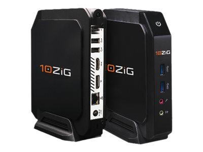10ZiG 4572 Thin client ultra mini 1 x Celeron N3060 / 1.6 GHz RAM 2 GB flash 4 GB