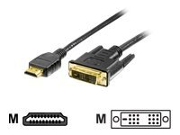 Digital Data - DVI-Kabel - HDMI (M) bis DVI-D (M) - 3 m - Schwarz
